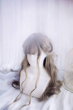 Royal Hairstyles, Kawaii Hairstyles, Pretty Hairstyles, Wig Hairstyles, Kawaii Wigs, Ulzzang Hair, Fantasy Hair, How To Draw Hair, Cosplay Wigs