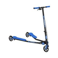 Yvolution Y Fliker Air Kids Scooter- Blue And Black Kids Scooter, Scooter Girl, Electric Scooter With Seat, Transportation For Kids, Scooter Storage, Scooter 50cc, Scooters For Sale, Toys R Us Canada, Go Kart