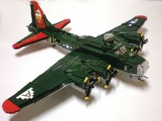 B-17 Flying Fortress 91st Bombardment Group: A LEGO® creation by Brick Flight : MOCpages.com