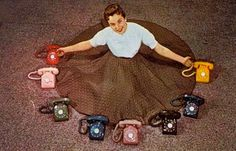 If you have a 7 or 8 year old child show them this picture and try to explain a rotary dial phone and a circle shirt.