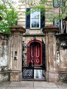 Cleland Kinlock Huger house in historic Charleston