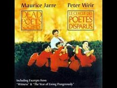 DEAD POETS SOCIETY (1989) by Maurice Jarre.  Oh captain my captain.