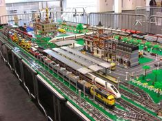 Lego City And Train Layout...