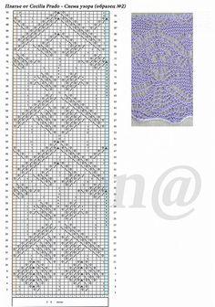 Сесилия Прадо - схема (образец №2)