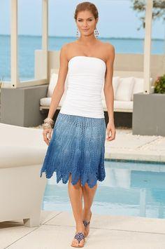 Crochet Skirt Patterns Summer 2013 | The Steady Hand