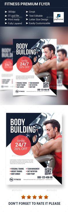 Fitness Premium Flyer - Corporate Flyers