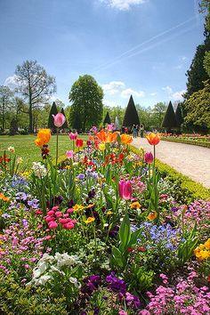 Residenz Garden HDR, Würzburg, Franconia, Germany   Flickr - Photo Sharing!