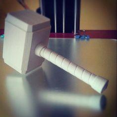 Something we liked from Instagram! Mjolnir :) #3d #3dprint #thor #mjolnir #marvel #rostock #worthy #thundet #mythology #hammer #avengers #props #3dprinter #thingiverse #power #comics #croatia by mmmmystery check us out: http://bit.ly/1KyLetq