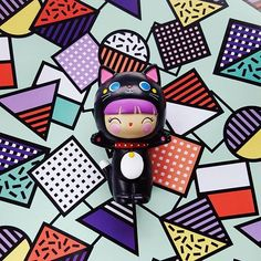 Super kawaii kitty for your favourite person. Love her purple hair and cat costume. Spread the love. Cute Cat Costumes, Momiji Doll, Kawaii Doll, Polymer Clay Crafts, Collectible Figurines, Favorite Person, Cute Gifts, Thoughtful Gifts, Pop Art