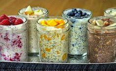 САМАЯ ВКУСНАЯ ЛЕНИВАЯ ОВСЯНКА В БАНКЕ здоровый быстрый завтрак, который не надо готовить Здоровое питание может быть легким и пр...