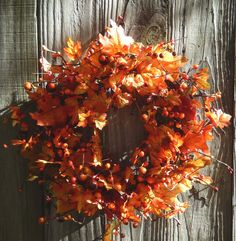 Fall Wreath   Wreath For Door  Harvest Wreath  by forevermore1, $69.00