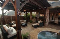 Outdoor Living Furniture by Southernwind Pools #006