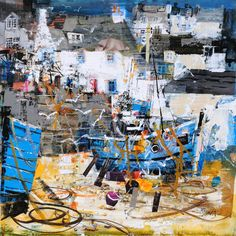 Cadgwith Cornwall 14x14, Mike Bernard