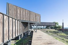 wmr arquitectos - Hotel Sirena, Curanipe, Chile