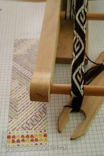 Kobolds Kerkerbastelei: Tablet weaving: Hallstatt II