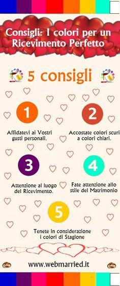 Come scegliere i colori per il #Ricevimento perfetto!  #matrimonio #colori #wedding #matrimoniovintage