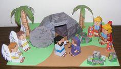 Páscoa/Easter - paper toys