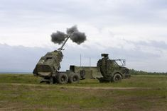 self propelled artillery   self-propelled howitzer Archer, to replace the old towed howitzer ...
