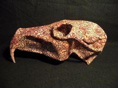 Skull Antique Style Papier m ch Taxidermy Museum Exhibit Curio SideShow Prop Sculpture Art, Sculptures, Museum Exhibition, Sideshow, Novelty Gifts, Taxidermy, Altered Art, Skull, Antiques