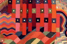 Fig. 06-  Tapestry by  Gunta Stolzl.