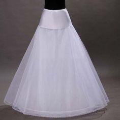 Tulle Wedding Bridal Petticoat Underskirt Crinolines for Wedding Dress