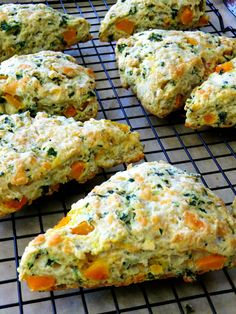 Savory Kale and Pumpkin Scones - this recipe comes from my favorite italian food blog, gotta try it