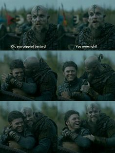 Vikings - Ivar and Floki