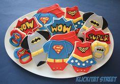 Baby Super Hero Cookies with tutorial (Klickitat Street)