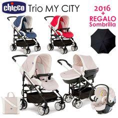 Trio My City Chicco 2016 + REGALO Sombrilla