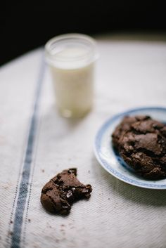 salted spicy double chocolate cookies by Beth Kirby | {local milk}
