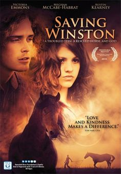 Saving Winston - DVD | When a troubled teen is forced to leave her self-destructive lifestyle, she meets an abandoned horse on her journey to redemption. Will temptation lead her astray again, or will her newfound love of God and a rescue horse help her find salvation?