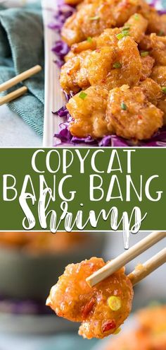 Everyone's favorite Bonefish Grill appetizer can be made at home using this copycat Bang Bang Shrimp recipe! Super crispy deep-fried shrimp are tossed in a sweet-and-spicy mayo-based glaze – perfect on their own, but even better served in tacos, rice bowls, or on an Asian salad. #crumbykitchen #copycat #copycatrecipe #bangbangshrimp #appetizer #recipe #easy #quick #easyrecipe #bonefishgrill #shrimp #shrimprecipe