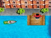 Water Taxi    Earn score by helping the boat man to pick up and drop the passengers as fast as he can by spotting them on the map. You gain life by collecting tools on your way whereas you lose a life if you hit the obstacles. Finish the target before the time runs out to move on to the next level. Complete all the levels to win the game. Use arrow keys to move and steer.  http://ezarcade.net/games/water-taxi/
