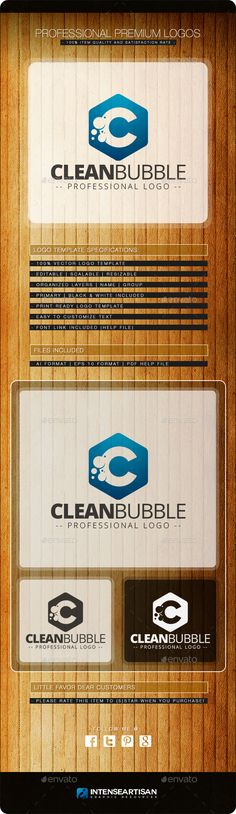 Clean Bubble Logo Template — Vector EPS #2014 logo #ready • Available here → https://graphicriver.net/item/clean-bubble-logo-template/9081669?ref=pxcr