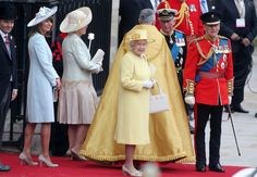 Carole Middleton - Wedding Guests Wave to Crowds