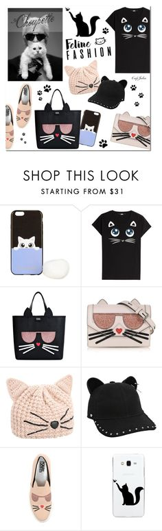 """Choupette by Karl Lagerfeld"" by cafejulia ❤ liked on Polyvore featuring Karl Lagerfeld"