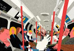 Ryo Takemasa injects some cheerfulness into London with his illustrations