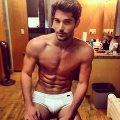 His name is Nick Bateman and here's a picture of him in his underwear. | Introducing The Hottest Professional Bo Staffer In The World