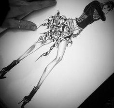 Nuovo anno... Nuove idee  www.gabrielefioruccishop.com  #fashion #sketch #work