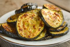 The gentle spice of this Spicy Roasted Zucchini makes it a perfect side dish for any meal, especially when you need a dish using easy ingredients. Zucchini Recipes Indian, Roasted Zucchini Recipes, Canned Salmon Recipes, Roast Zucchini, Indian Food Recipes, Zucchini Curry, Zucchini Crisps, Zucchini Lasagne, Zucchini Bread