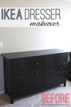 Hemnes Ikea Dresser Makeover