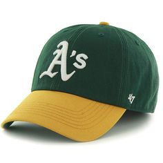 huge discount a6863 10895 Oakland Athletics Franchise Fitted Home Cap by  47 - MLB.com Shop Athletics  Logo