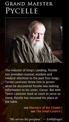 Pycelle - game-of-thrones Photo
