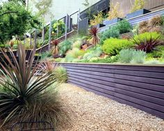 79 ideas to build a retaining wall in the garden slope protection and catchy sloped gardenterraced gardenlandscape designgarden - Landscape Design Retaining Wall Ideas