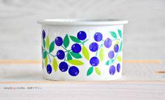 Vintage Jam Pot Canister Blueberry Pomona by SimplyLoveNordic, €35.00
