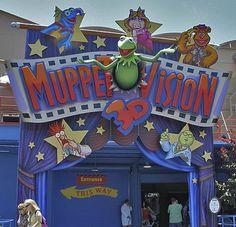 Disney Hollywood Studios: Muppet Vision 3D