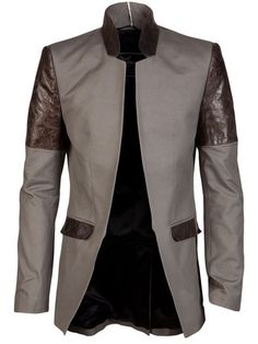 Shop Unconditional LEATHER PATCH JACKET in  from the world's best independent boutiques at farfetch.com. Over 1500 brands from 300 boutiques in one website.