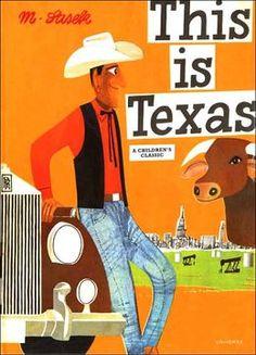 This is Texas, by Miroslav Sasek