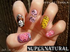 Supernatural nails? *iz ded*