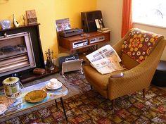 Living room. Summerlee Museum of Scottish Industrial Life, Coatbridge